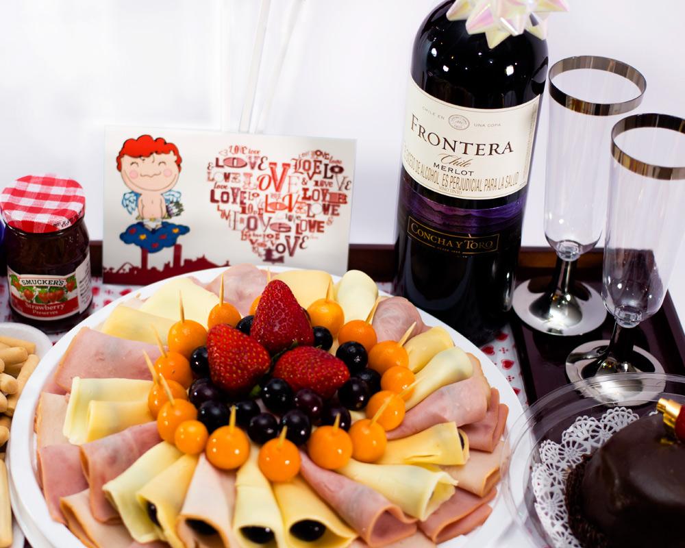Desayuno rom ntico opcion 9 desayunos a domicilio en - Preparar desayuno romantico ...